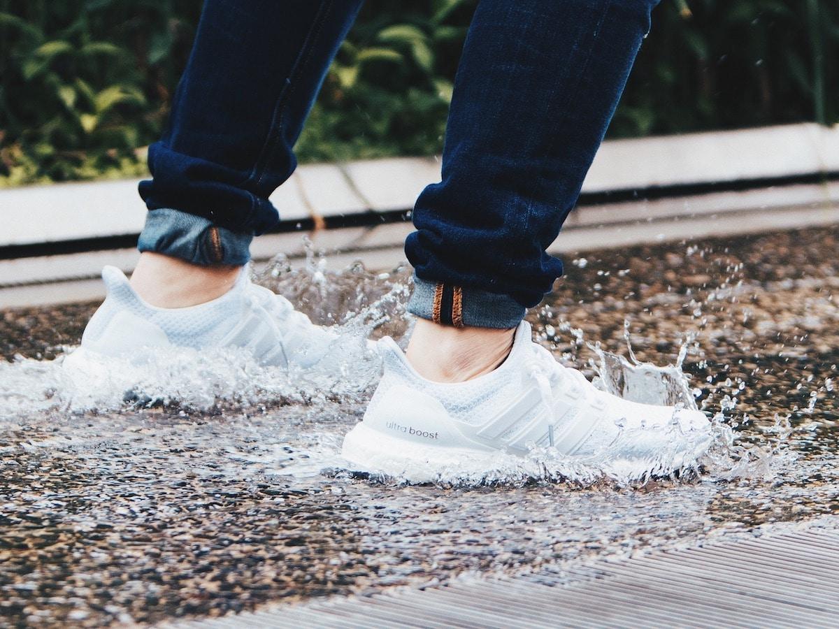 Adidas Boost skor