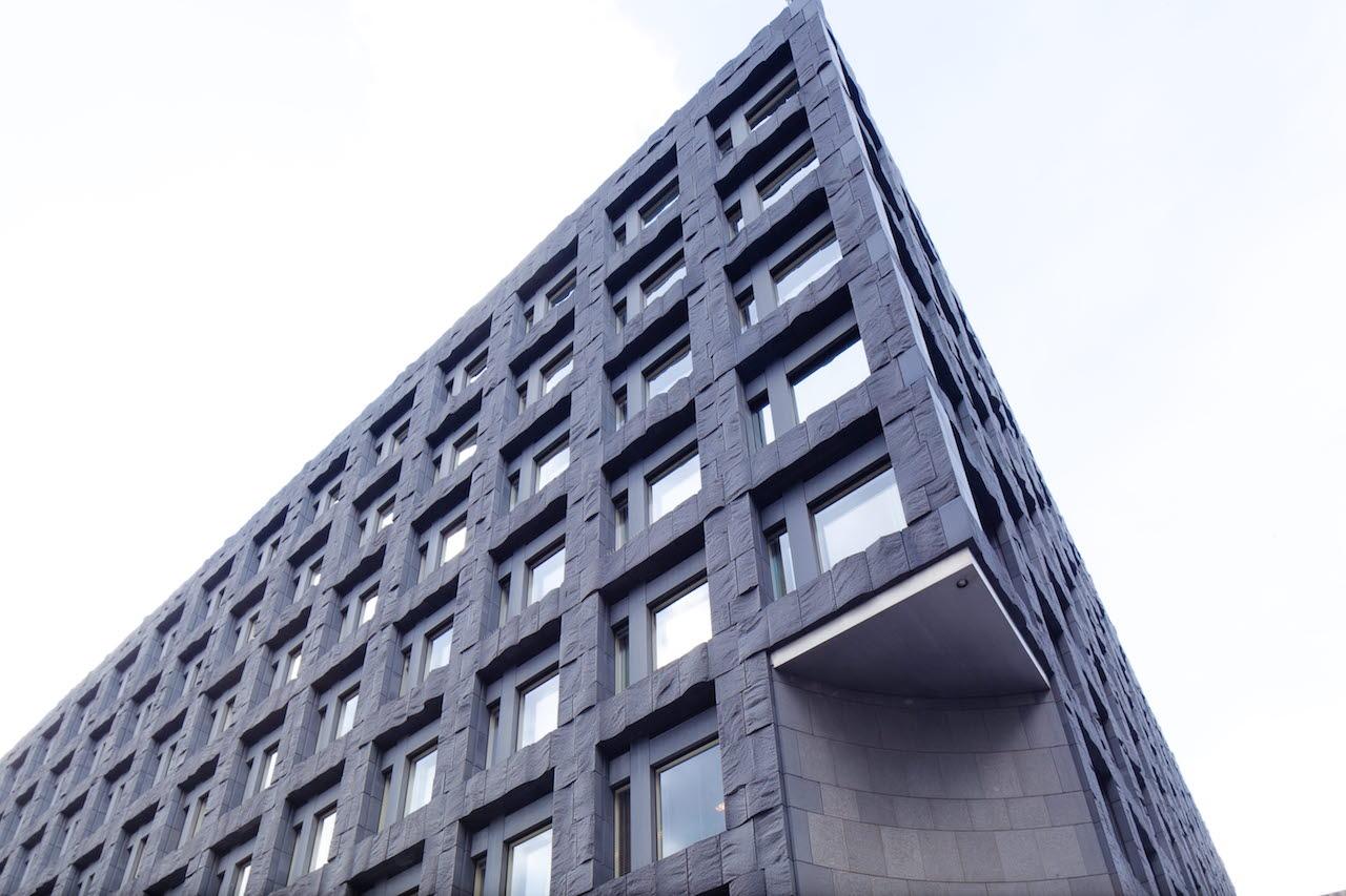 Riksbanken fasad Stockholm
