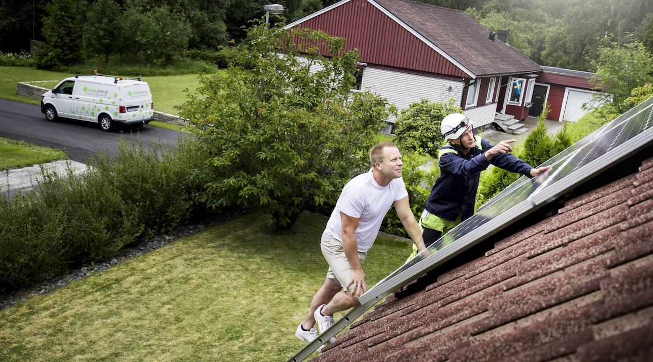 Solenergi för hem och villa